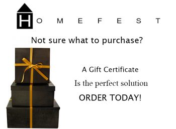 Homefest Gift Certificate