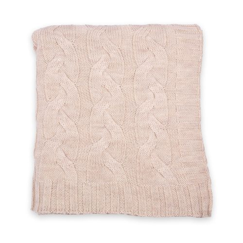 Darzzi Hampton Beige Throw