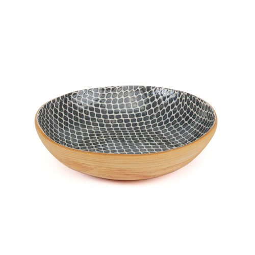 Terrafirma Ceramic Serve Bowl Charcoal