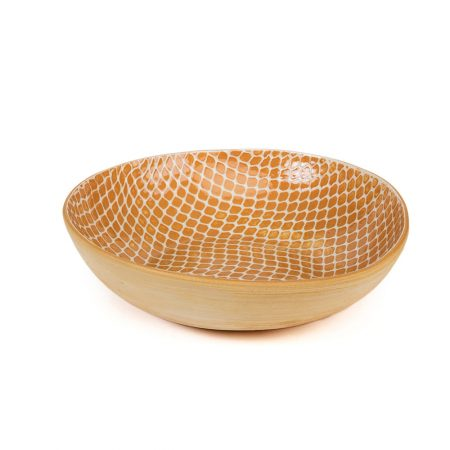Terrafirma Ceramic Serve Bowl Apricot