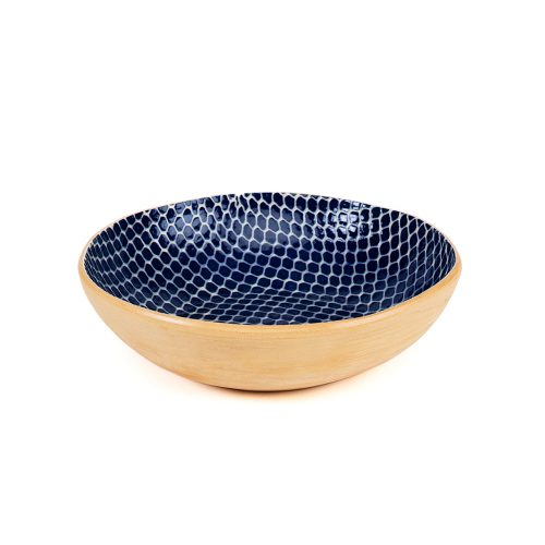 Terrafirma Ceramic Serve Bowl Cobalt