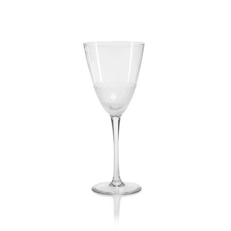 Zodax Chisel Cut Wine Glass