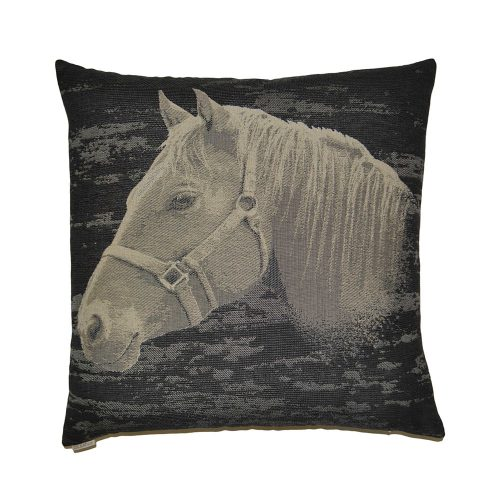D.V. Kap Home Pillow Mr. Ed Black