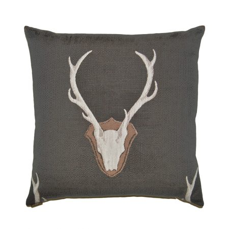 D.V. Kap Home Pillow Uncle Buck Grey