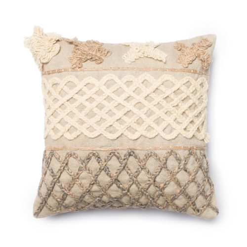 Loloi Boho Neutral Pillow