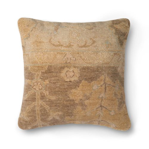 Ellen Degeneres Brown Beige Carpet Pillow