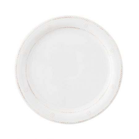 Juliska Berry & Thread Melamine Dinner Plate White