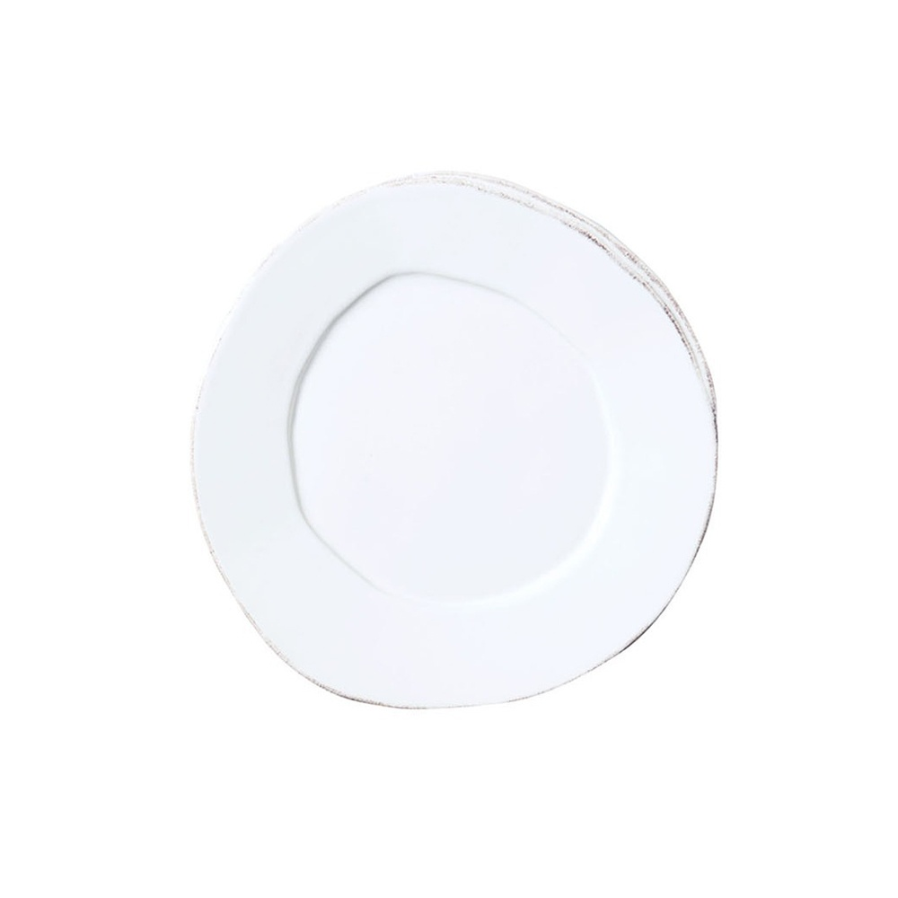 Vietri lastra white canape plate for What is a canape plate