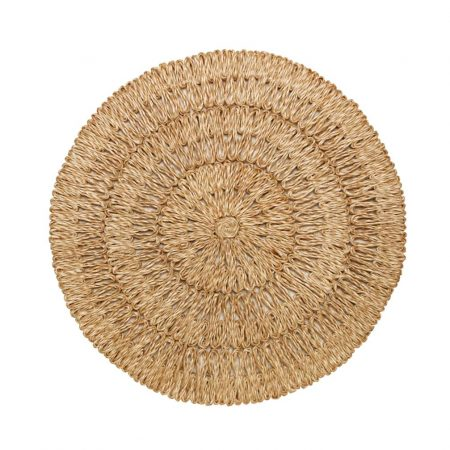 Juliska Straw Loop Placemat Natural