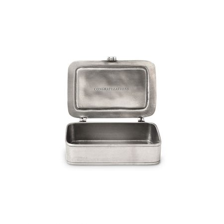 Match Pewter Box Congratulations