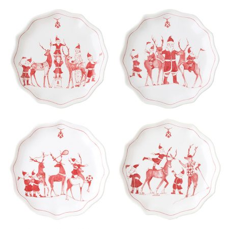 Juliska Country Estate Tidbit Plates