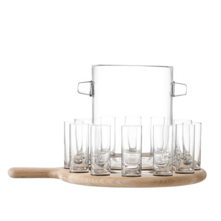LSA Paddle Shot Serving Set