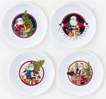Homefest Christmas plate