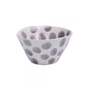 Casafina Spot On Grey Cereal Bowl