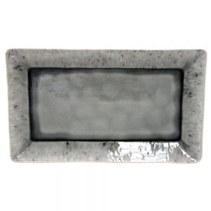 Costa Nova Madeira Grey Rectangular Tray