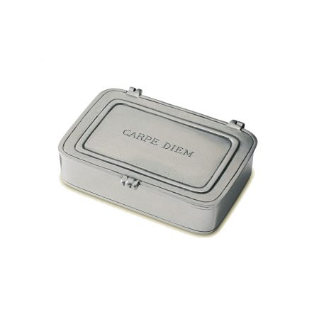 Match Pewter Box Carpe Diem
