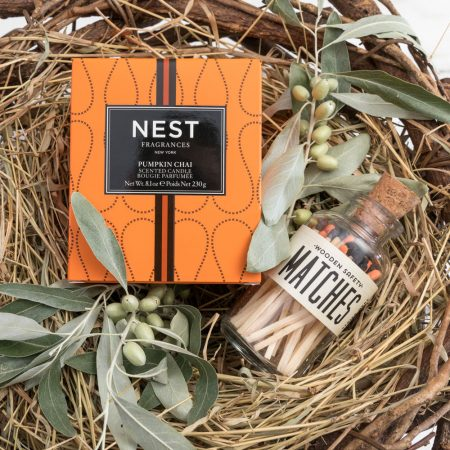 Nest Candle Matches Gift Set