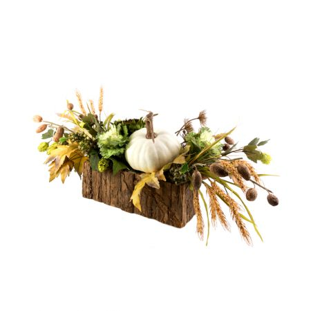 Faux Fall Centerpiece