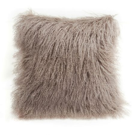Fibre Sheepskin Cushion Birch
