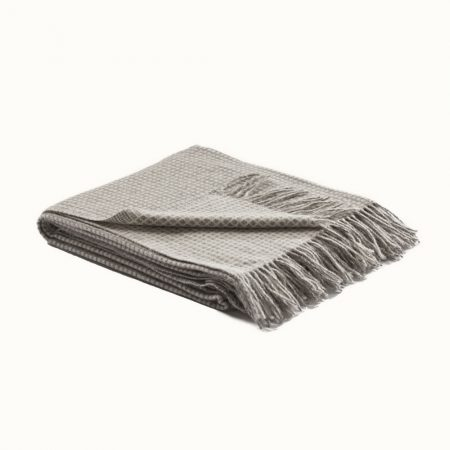 Fibre Tate Throw Brown