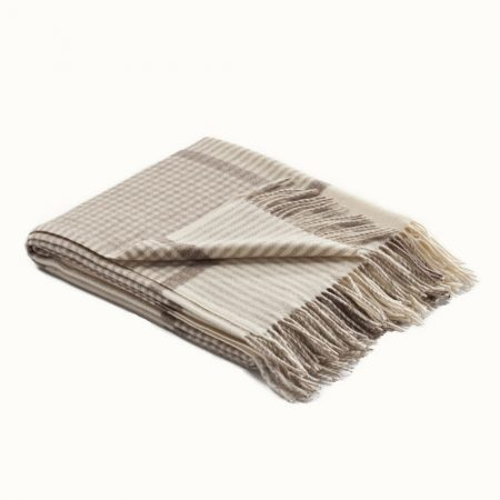 Fibre Winston Throw Cream