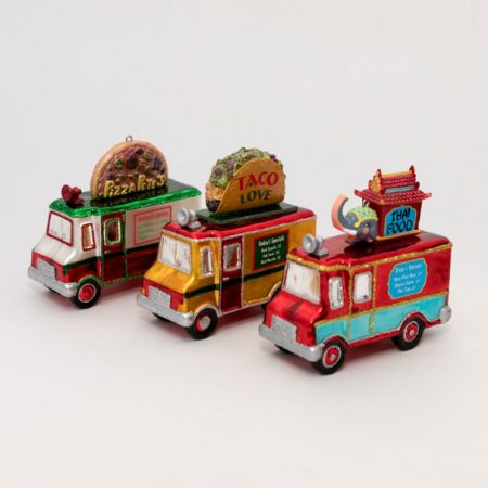 Food Truck Ornament Set