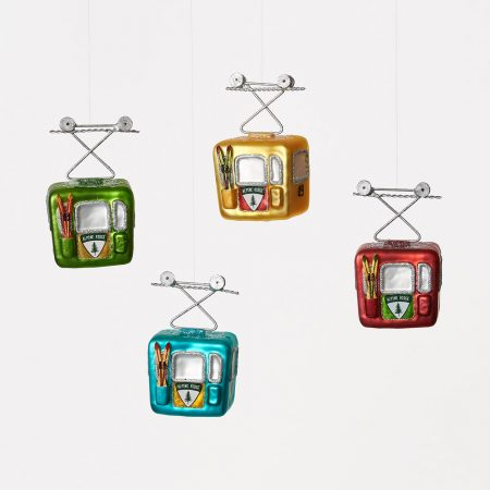 Gondola Ornament Set