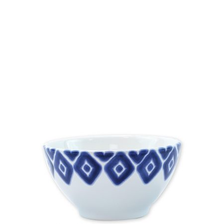 Vietri Santorini Cereal Bowl Diamond
