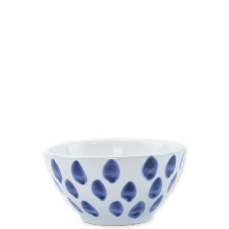 Vietri Santorini Cereal Bowl Dot