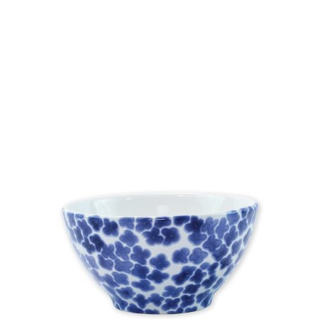 Vietri Santorini Cereal Bowl Flower