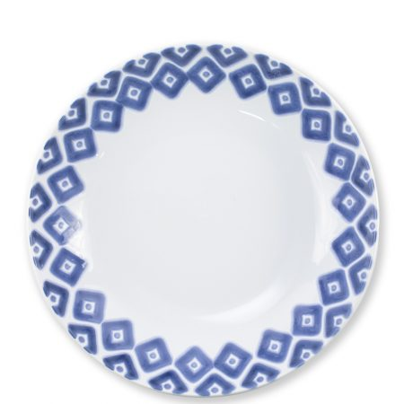 Vietri Santorini Medium Serve Bowl Diamond