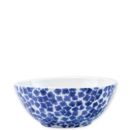 Vietri Santorini Small Serve Bowl Flower