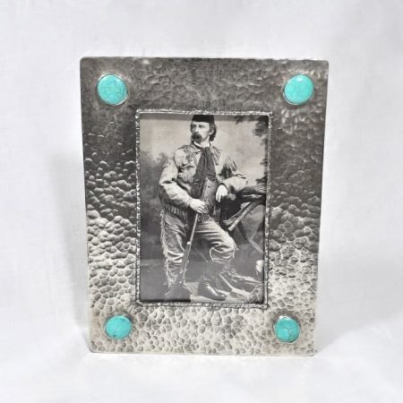Silver and Turquoise Frame