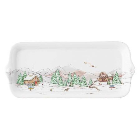 Juliska Berry & Thread North Pole Hostess Tray