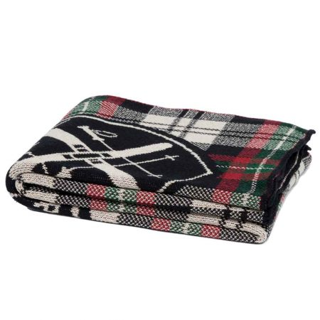 In2Green Tartan Apres Ski Throw