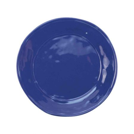 Vietri Fresh Marine Blue Dinner Plate