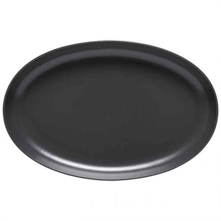 Casafina Pacifica Oval Platter Grey
