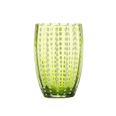 Zafferano Perle Tumbler Apple