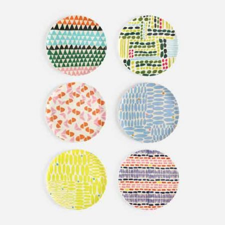 Melamine Patterned Plate