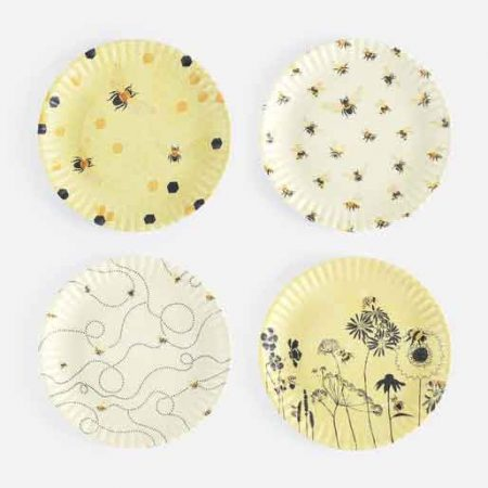 Melamine Busy Bee Plates