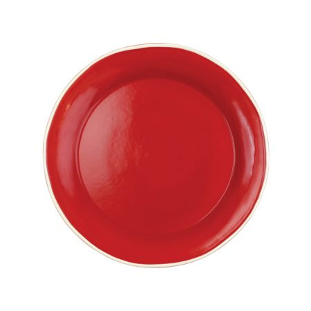 Vietri Chroma Red Dinner Plate