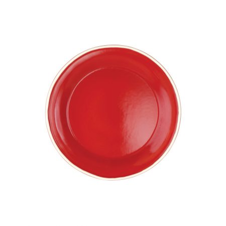 Vietri Chroma Red Salad Plate