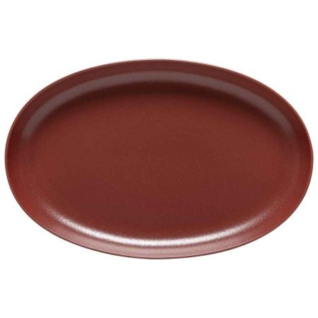 Casafina Pacifica Oval Platter Cayenne