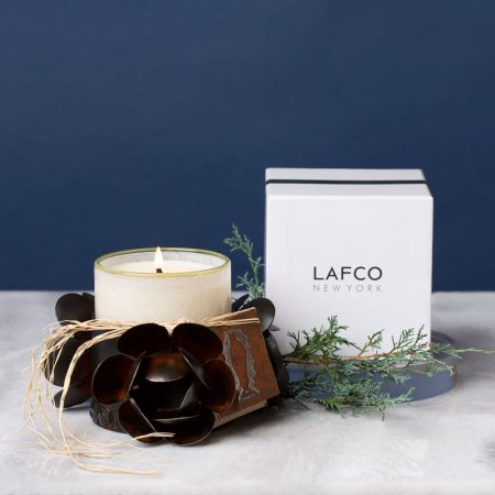 Lafco Candle with Jan Barboglio Container