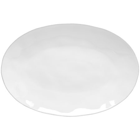 Livia Oval Platter White Large