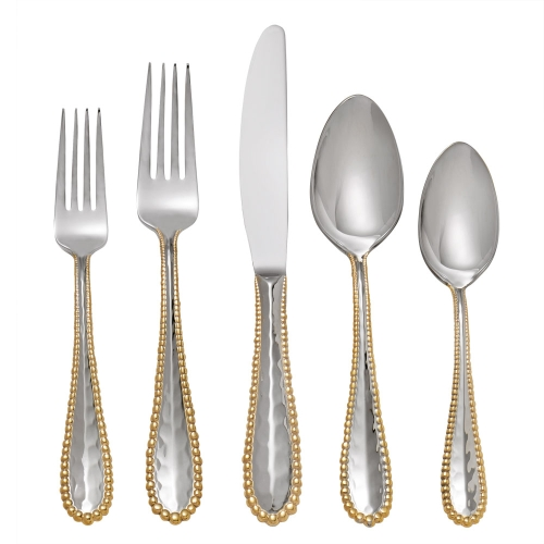 Michael Aram Molten Gold Five Piece Place Setting