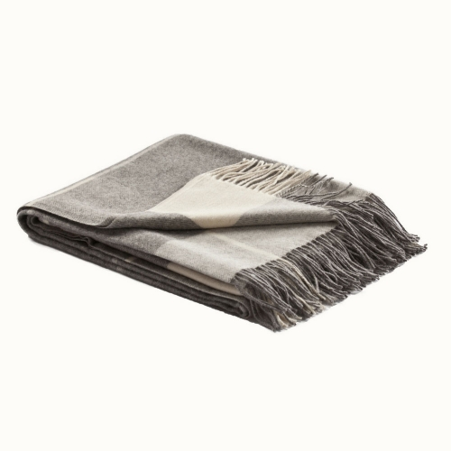Fibre Smith Throw Grey