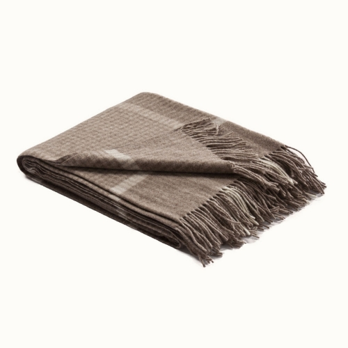 Fibre Winston Throw Mocha