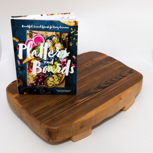 Cookbook and Charcuterie Board Giftset