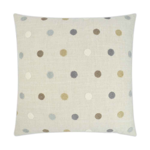 DV Kap puff dotty pillow